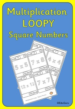 Multiplication Loopy Square Numbers