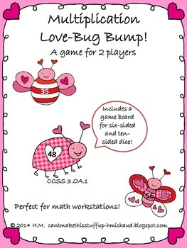 Multiplication Love Bug Bump
