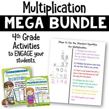 Multiplication MEGA Bundle for Grade 4