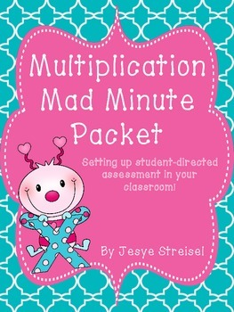 Multiplication Mad Minute Packet