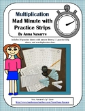 Multiplication Mad Minute with Practice Strips