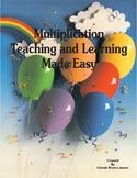 Multiplication Made Easy-6 Week Teacher Lesson Plans