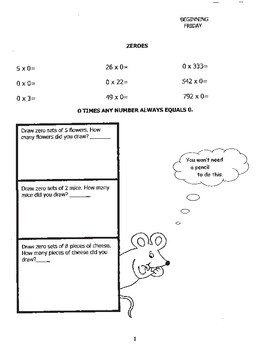 Multiplication Made Easy-6 Week Student Workbook
