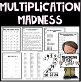 Multiplication Madness - PDF and Google Drive Resource