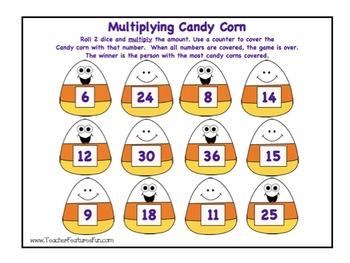 Fall Math: Multiplication Madness