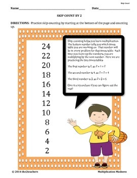 Multiplication Madness:  A Multiplication BUNDLE PACK
