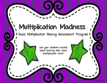 Multiplication Madness: A Resource for Multiplication Fact Fluency!