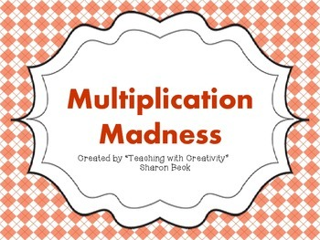 Multiplication Madness Complete Multiplication Fact Strategy Pack