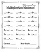 Multiplication Madness by Factor Fact Fluency Quizzes