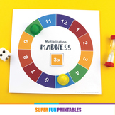 Multiplication Madness game