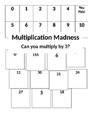 Multiplication Madness with 3's