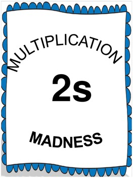 Multiplication Madness x2s