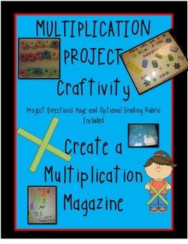 Multiplication Magazine Craftivity