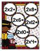 Multiplication Magic Multiplying by 2s File Folder Game