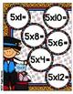 Multiplication Magic Multiplying by 5s File Folder Game