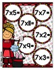 Multiplication Magic Multiplying by 7s File Folder Game