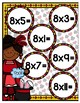 Multiplication Magic Multiplying by 8s File Folder Game