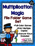 Multiplication Magic Set of 12 File Folder Games
