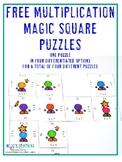 FREE Multiplication Game   Multiplication Worksheet Altern