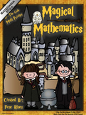 Multiplication Magical Mathematics ~ Color By The Code Math Puzzles