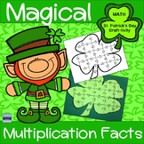 St. Patrick's Day Multiplication Magical Shamrock