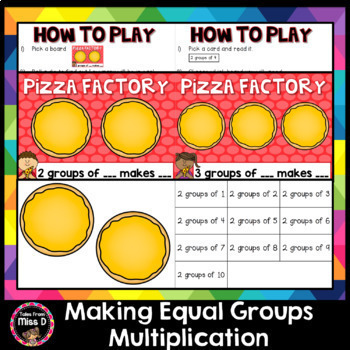 Multiplication Game - Making Groups