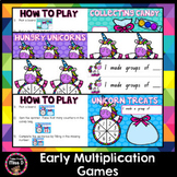 Multiplication Games - Making Groups