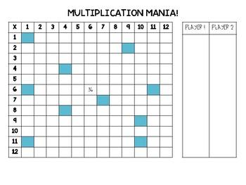 Multiplication Mania