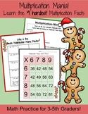 Multiplication Mania: Learn 9 Hardest Multiplication Facts
