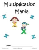 Multiplication Mania Packet - Factors 0-10