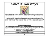 Multiplication Mania - Solve It Two Ways