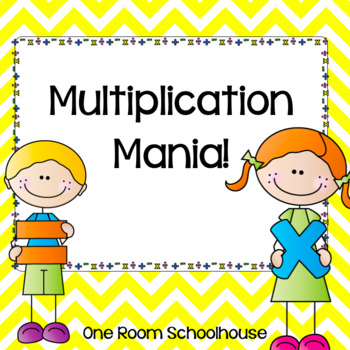Multiplication Mania Task Cards
