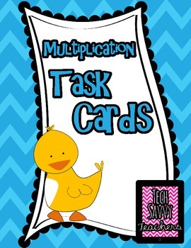 Multiplication Mania: Task Cards Using Single Digit Story Problems
