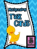 Multiplication Mania: Task Cards Using Single Digit Story