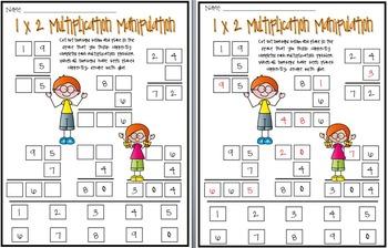 Multiplication Manipulation: Practice Using the Standard Algorithm