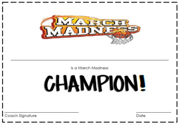 Multiplication March Madness!