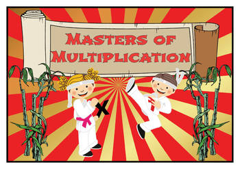 Multiplication Masters Fluency Bundle - Times Tables - Timed Tests