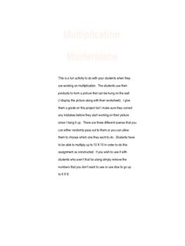 Multiplication Masterpiece