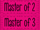 Multiplication Masters!