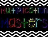 Multiplication Masters