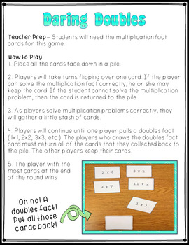 Multiplication Masters Card Games