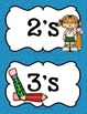 Multiplication Masters Classroom Display Student Progress Chart