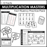 Multiplication Masters Fact Fluency Practice