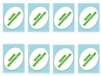 Multiplication Masters Game {3.OA.5}