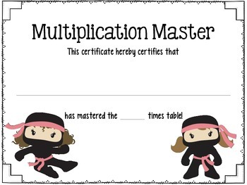 Multiplication Masters: Mastering the Times Tables