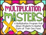Multiplication Masters Math Pack