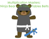 Multiplication Masters - Ninja Bears and Times Tables Belts