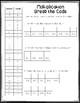 Multiplication Mastery Break the Code Activities