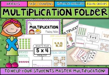Multiplication Mastery Folder