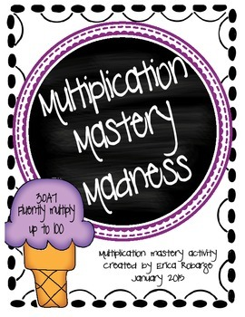 Multiplication Mastery Madness